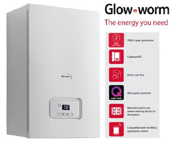 Glow-worm - LPG Combi