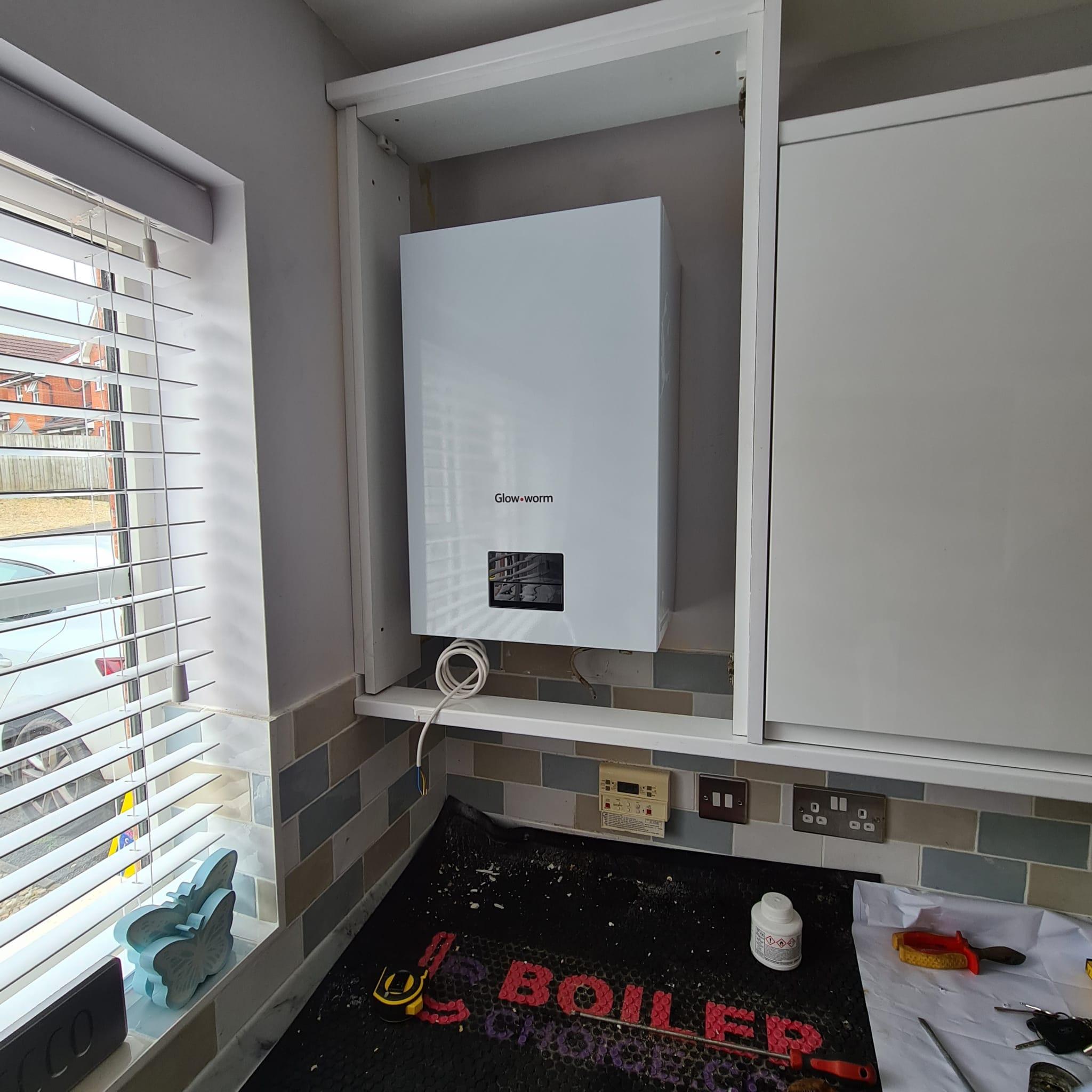 New boiler in birmingham